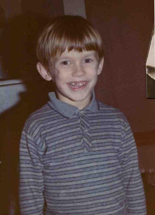 Rob in blue stripes