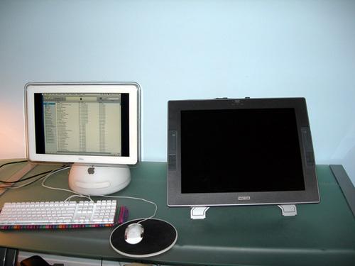 Wacom cintiq & computer