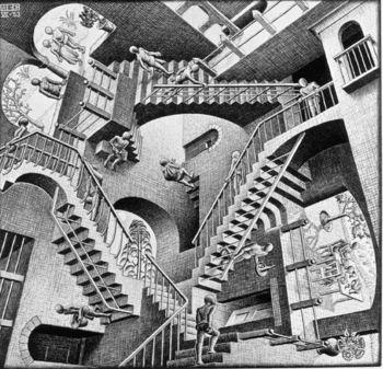 Eschers_relativity_2